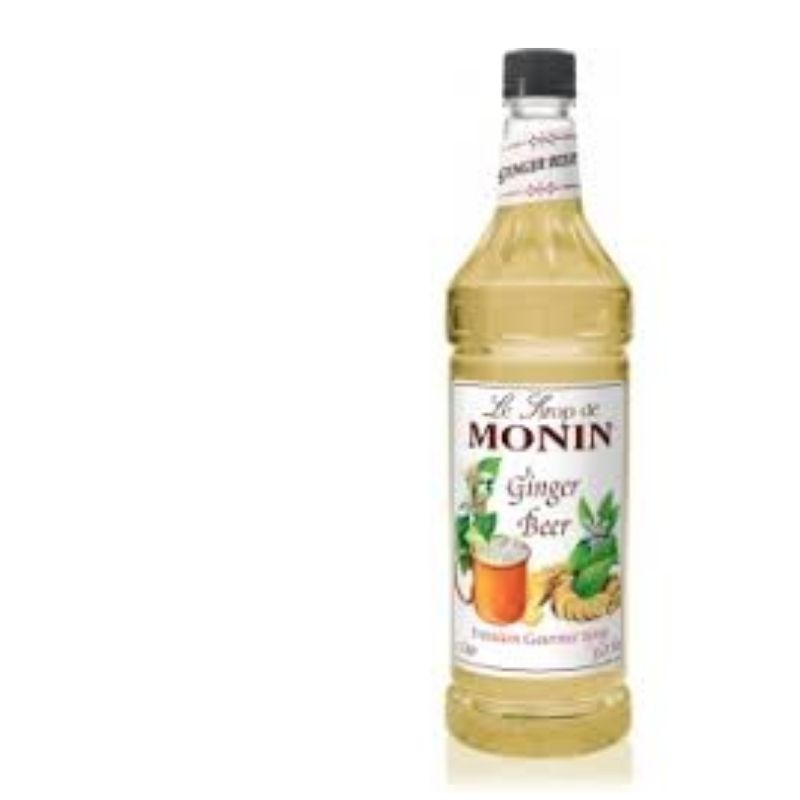 Monin Old Fashioned Ginger Beer Syrup 1000 mL