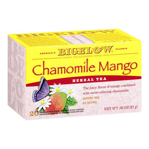 Bigelow Chamomile Mango Tea 20ct