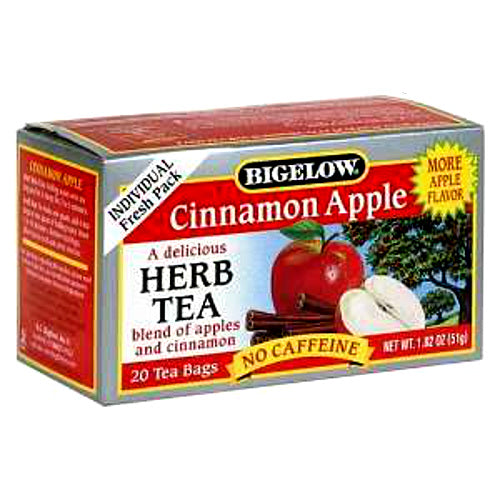 Bigelow Cinnamon Apple Herbal Tea 28ct