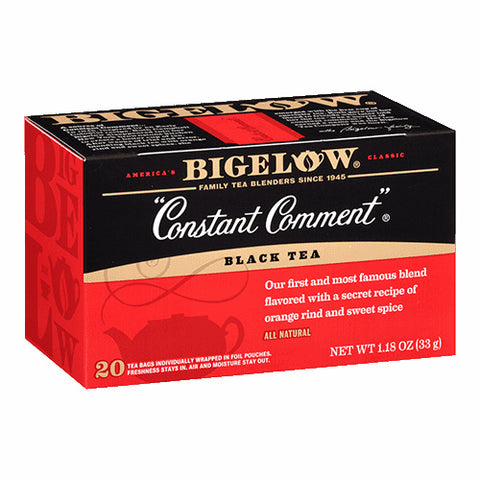 Bigelow Perfect Peach Herbal Tea 20ct