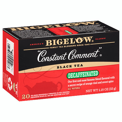 Bigelow Constant Comment DECAF Tea 20ct