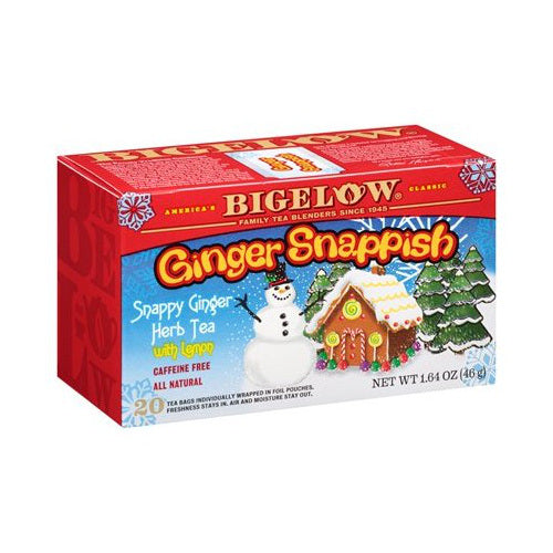 Bigelow Ginger Snappish Herbal Tea 20ct