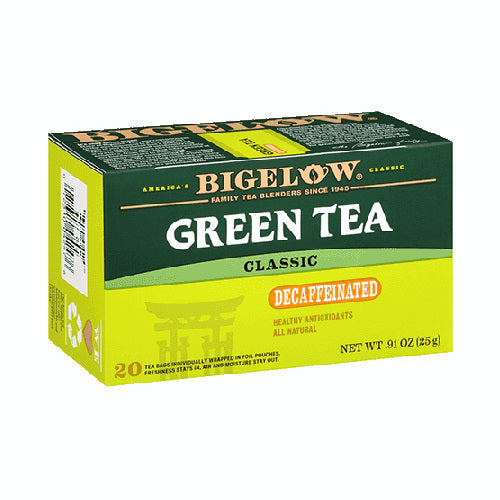 Bigelow Green Tea Classic Decaf 28ct