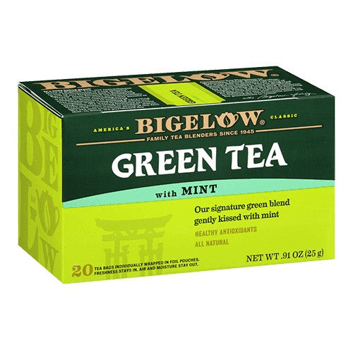 Bigelow Mint Green Tea 20ct