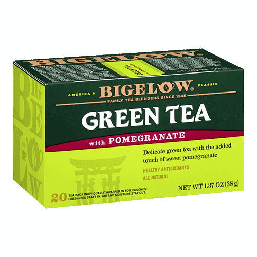 Bigelow Pomegranate Green Tea 20ct