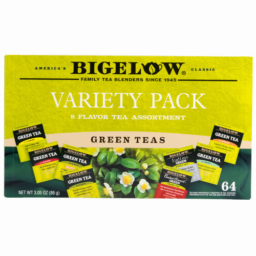 Bigelow Green Tea Variety Pack 64ct