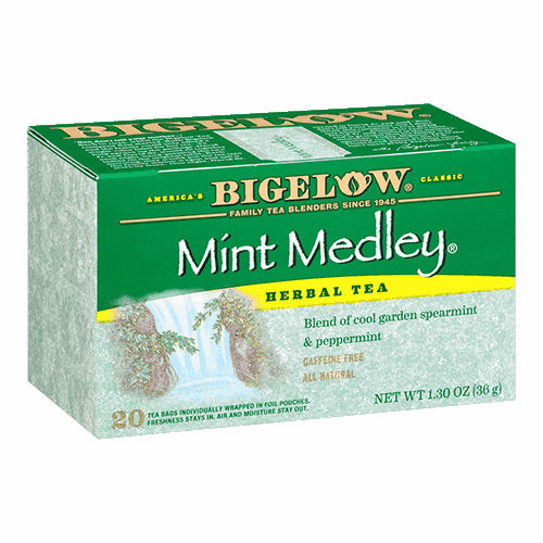 Bigelow Mint Medley Herbal Tea 20ct