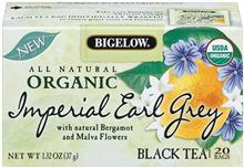 Bigelow Organic Earl Grey Tea 20ct
