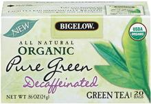 Bigelow Organic Green Tea Decaf 40ct