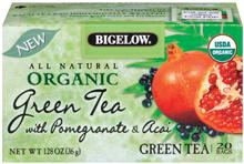 Bigelow Organic Pomegranate Acai Green Tea 20ct
