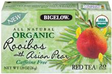 Bigelow Organic Pear Rooibos Tea 20ct