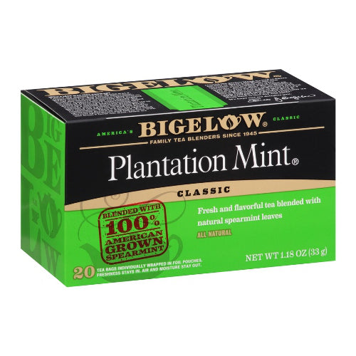 Bigelow Plantation Mint Tea 28ct