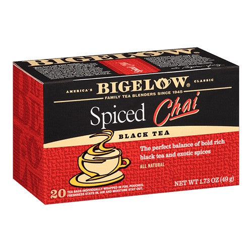 Bigelow Spiced Chai Tea 20ct