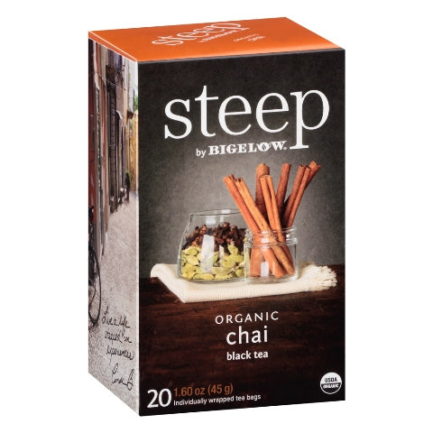 Bigelow STEEP Organic Chai 20ct