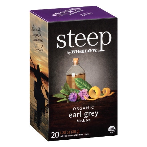 Bigelow STEEP Organic Earl Grey Tea 20ct