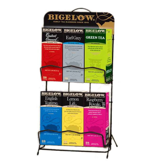 Bigelow Tea 6 Box Rack