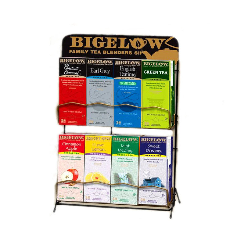Bigelow Tea 8 Box Rack