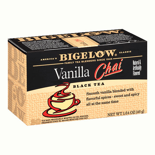 Bigelow Vanilla Chai Tea 20ct