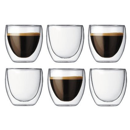 Bodum Pavina Double-Walled Glasses 6 Pack