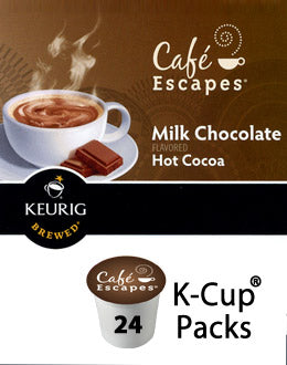 Cafe Escapes Milk Chocolate Hot Cocoa 96 Ct