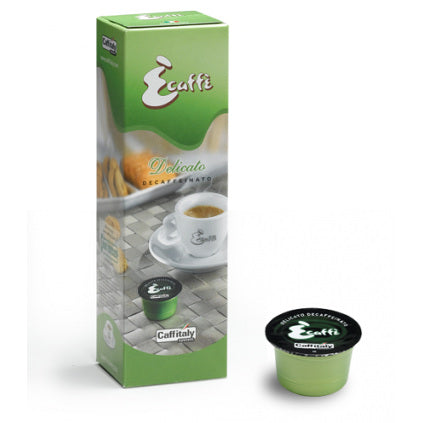 Caffitaly Ecaffe Decaf Delicato Coffee