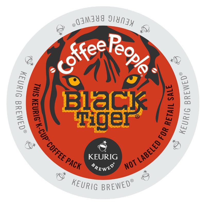 Coffee People Black Tiger 96 ct