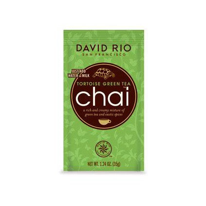 David Rio Green Tortoise Chai 12 Pack