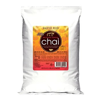 David Rio Red Panda Pumpkin Chai 4lb
