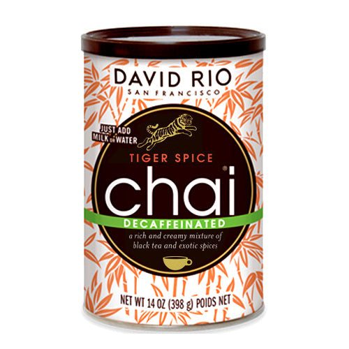 David Rio Tiger Spice Decaf Chai 14oz