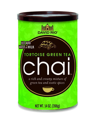 David Rio Green Tortoise Chai 14oz