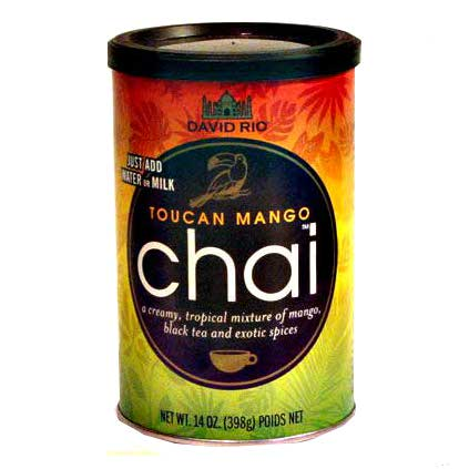 David Rio Toucan Mango Chai 14oz