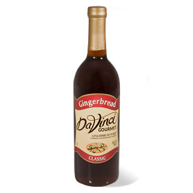 DaVinci Gingerbread Syrup 750 mL