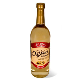 DaVinci Hazelnut Syrup 750 mL
