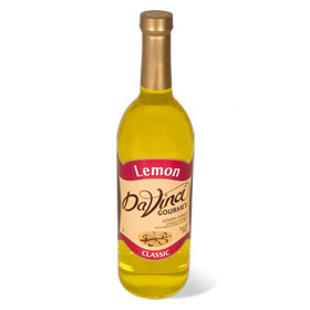 DaVinci Lemon Syrup 750 mL