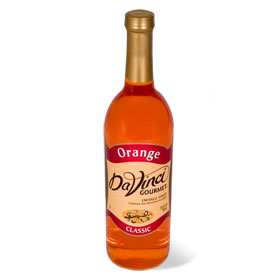 DaVinci Orange Syrup 750 mL