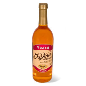 DaVinci Peach Syrup 750 mL