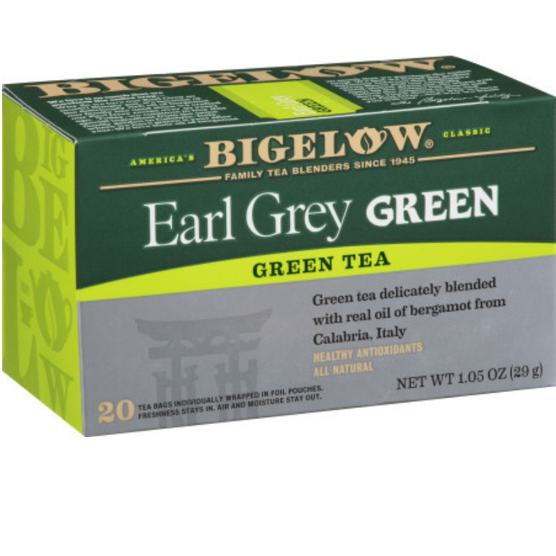 Bigelow Earl Grey Green Tea 20ct