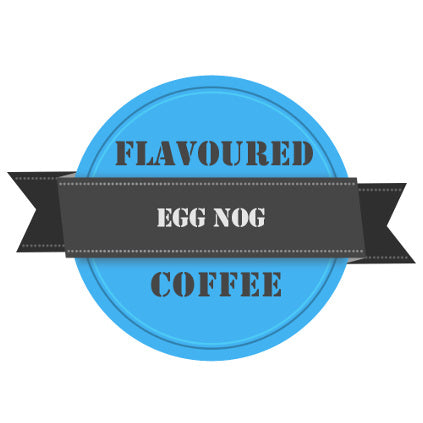 Egg Nog Flavoured Coffee