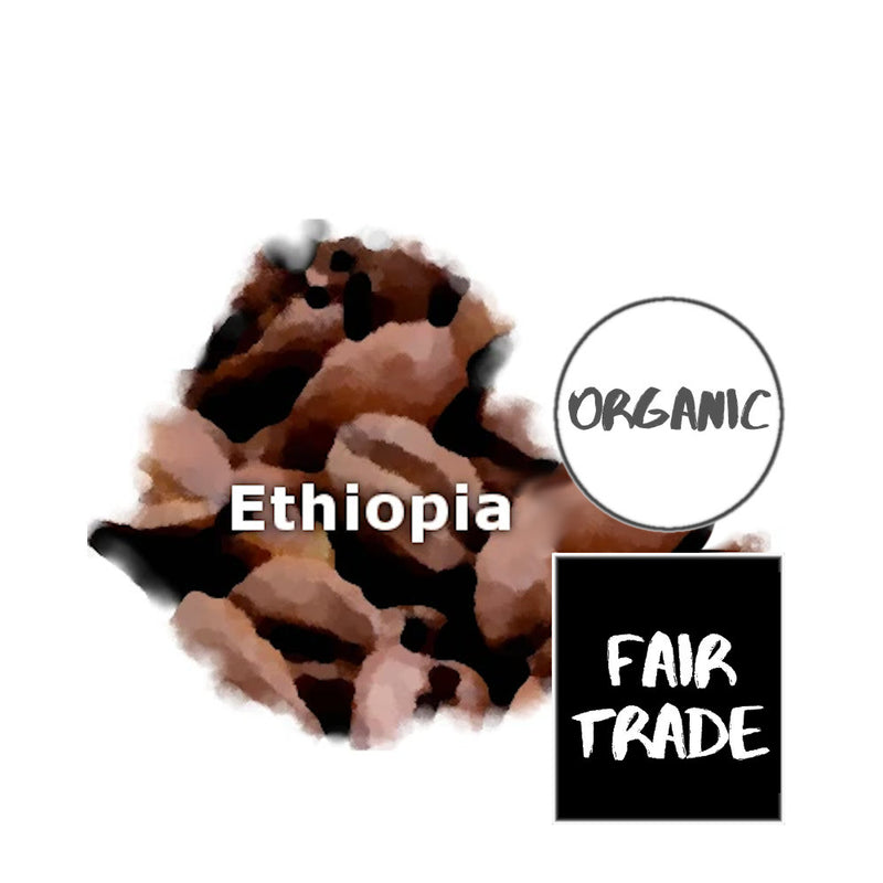 Ethiopian Yirgacheffe Fair Trade Organic Coffee
