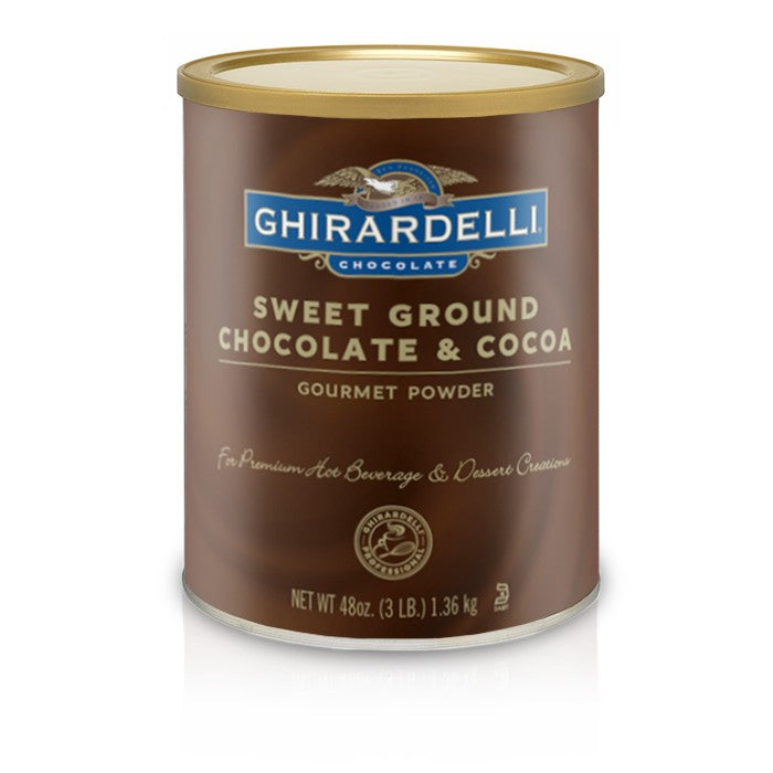 Ghirardelli Sweet Ground Chocolate Powder 3lb