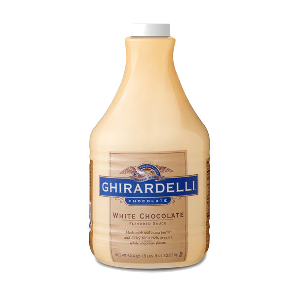 Ghirardelli White Chocolate Sauce 90 oz
