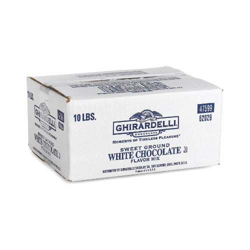 Ghirardelli Sweet Ground White Chocolate Powder 10lb