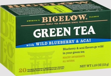 Bigelow Green Tea with Blueberry & Acai 20ct