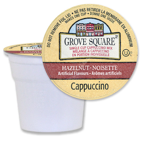 Grove Square Cappuccino Hazelnut 96 Ct