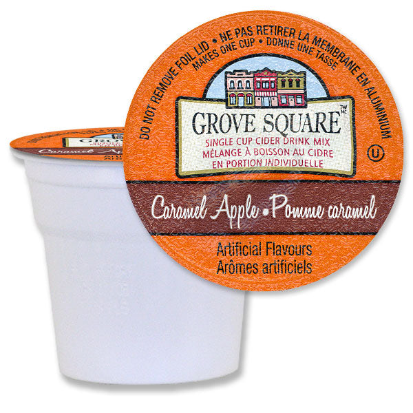 Grove Square Caramel Apple Cider 96 Ct