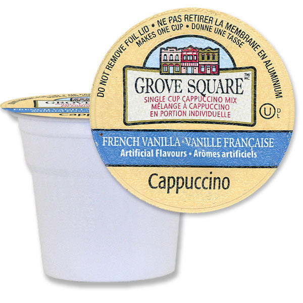 Grove Square Cappuccino French Vanilla 96 Ct