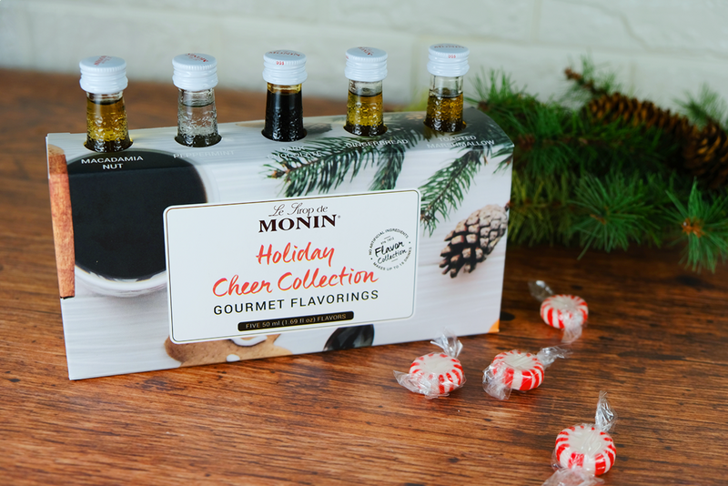 Monin Coffeehouse Sample Bottles-Holiday Cheer Edition