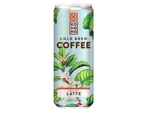 Kohana Island Latte Cold Brew Can 8 oz
