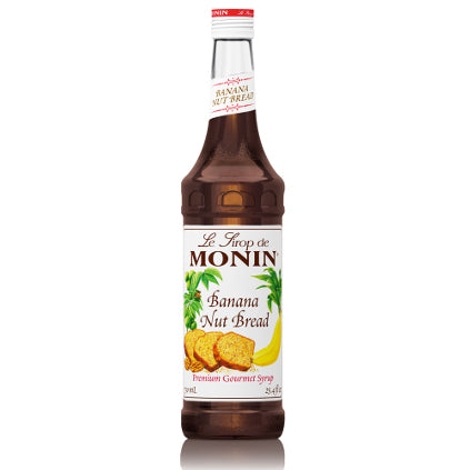 Monin Banana Nut Bread Syrup 750 mL