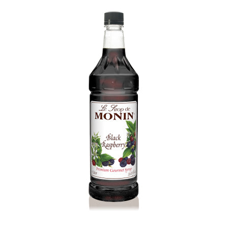 Monin Black Raspberry Syrup 1000 mL